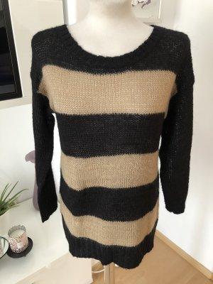 Gestreifter Pullover mit Rundausschnitt von HallHuber Größe XS