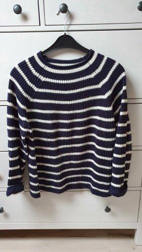 gestreifter Pullover von MANGO