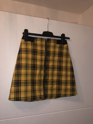 Fb Sisters Miniskirt black-yellow