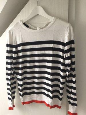 Vero Moda Sweter z okrągłym dekoltem Wielokolorowy Wiskoza