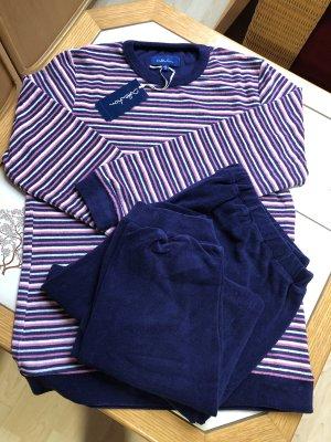 Gestreifter Schlafanzug Baumwolle