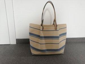 H&M Borsa shopper bianco sporco-blu