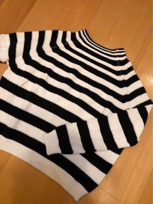 Gestreifter Strick-Pullover von Mango | Gr. L