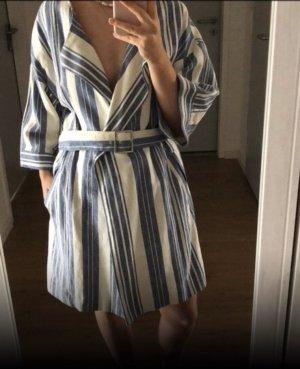 Gestreifter Trenchcoat/ Kimono