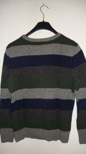 Brooklyn Industries Maglione di lana multicolore Lana vergine