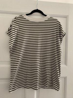 Gestreiftes Basic Shirt von Weekday