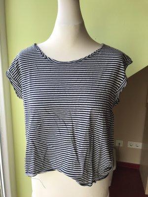 Gestreiftes Basicshirt Zara