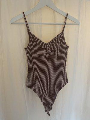 Pieces Stripe Shirt white-bordeaux