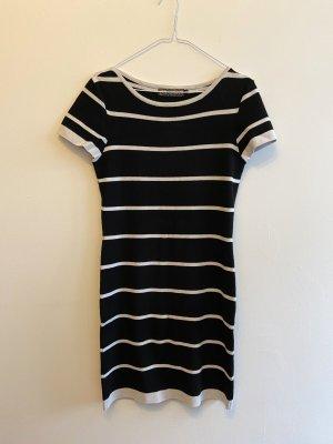 gestreiftes Bodycon Kleid