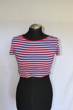 keine T-shirt court multicolore tissu mixte