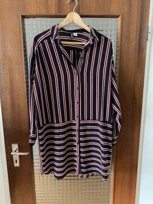 H&M Vestido tipo blusón multicolor