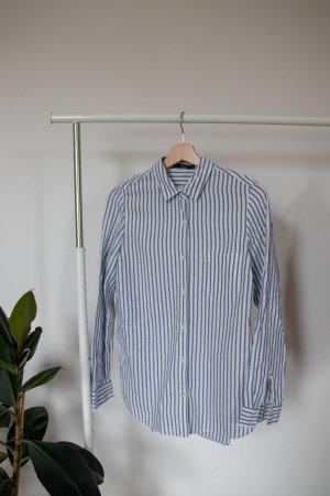 gestreiftes Hemd von Mango
