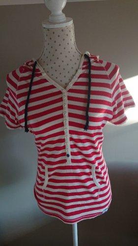 SUPER DRY Camicia con cappuccio multicolore Cotone