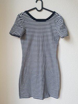 & other stories Sukienka mini w kolorze białej wełny-ciemnoniebieski