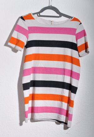 H&M Robe à manches courtes multicolore