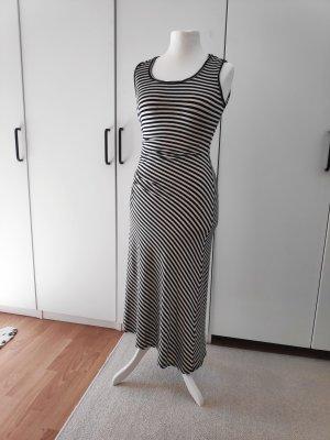 Gestreiftes Kleid Maxikleid strechy max Studio Größe 36
