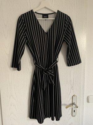 Object Robe portefeuille noir-blanc