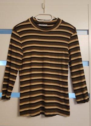 Gestreiftes Langarm Shirt Zara