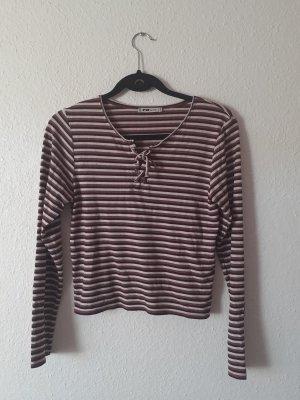 Fishbone Stripe Shirt multicolored