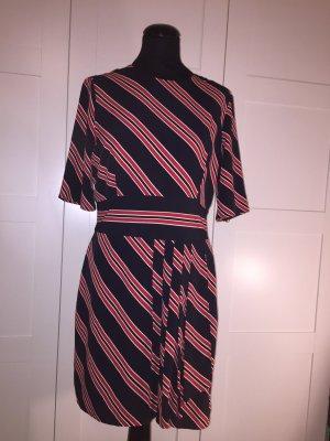Mango Chiffon Dress multicolored