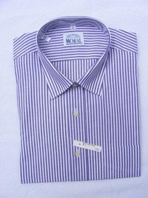 Mc Neal Shirt met lange mouwen wit-paars Katoen