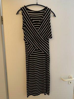 Gestreiftes Midi-Kleid Zara