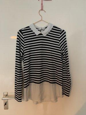 Primark Sweater Twin Set dark blue-natural white