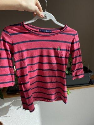 Gestreiftes Polo Ralph Lauren 3/4 Shirt