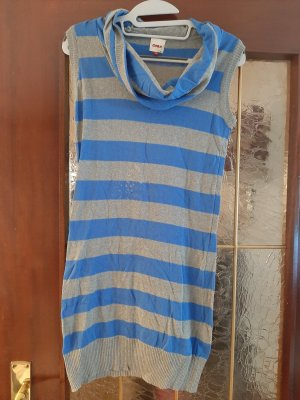 Only Robe Sweat gris-bleu