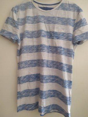 Gestreiftes Shirt blau weiss