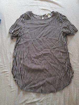H&M T-shirt bianco-nero