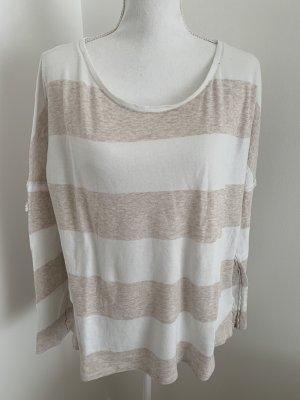 Juvia Camicia lunga bianco-beige