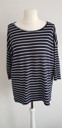Vero Moda Stripe Shirt white-black mixture fibre
