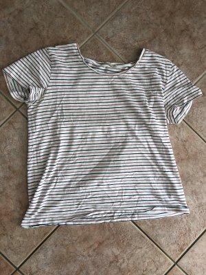 Gestreiftes Sommer T-shirt