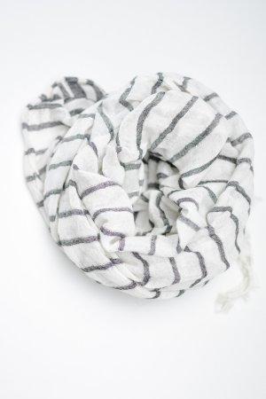 H&M Foulard blanc-gris clair