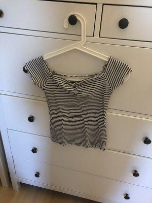 Gestreiftes Strech Shirt