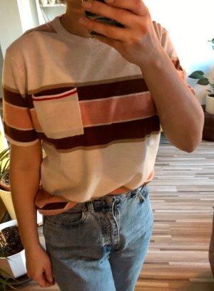 Gestreiftes Strick T-Shirt aus Wolle von Scotch&Soda