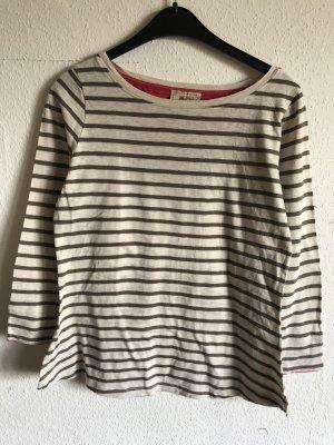 Arabella & Addison Sweat Shirt oatmeal-grey brown cotton