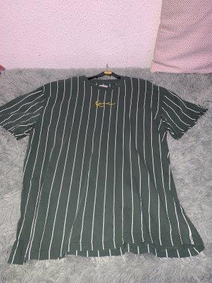 Karl Kani T-Shirt white-forest green