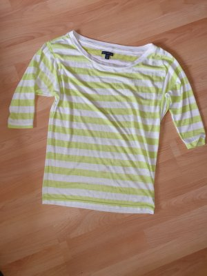 American Eagle Outfitters Oversized Shirt white-neon green