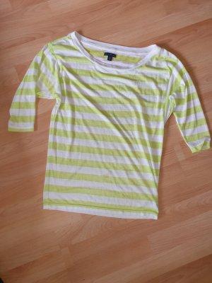 American Eagle Outfitters Camisa holgada blanco-verde neón