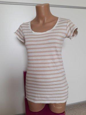 Takko T-shirt bianco-beige