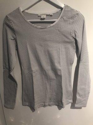 H&M T-Shirt white-anthracite