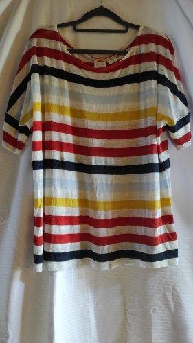 C&C California T-shirt multicolore Lino