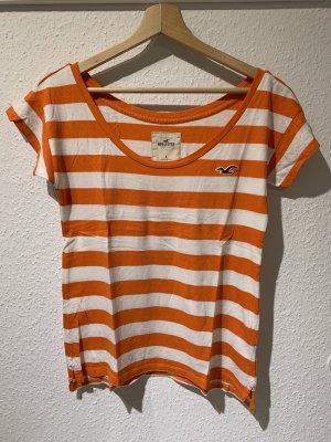 Gestreiftes T-Shirt von Hollister | Größe: S