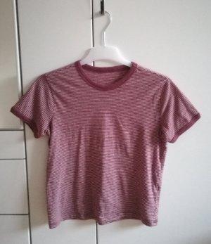 Gestreiftes T-Shirt von Pull & Bear