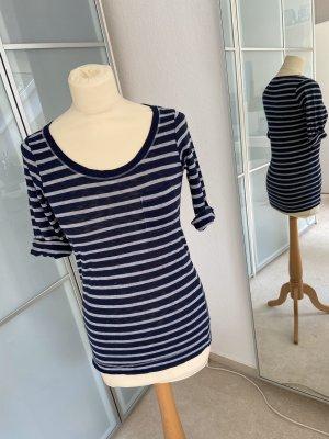 Splendid T-shirt grigio chiaro-blu scuro