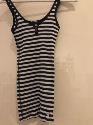 Abercrombie & Fitch Tanktop donkerblauw-wit