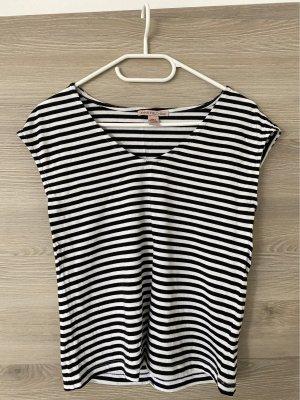 Anna Field T-shirt bianco-nero