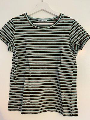 Gestreiftes Vintage T-Shirt